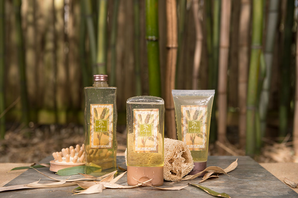 Heavenly And Zen Aloe Bath Soaps In the Bamboo