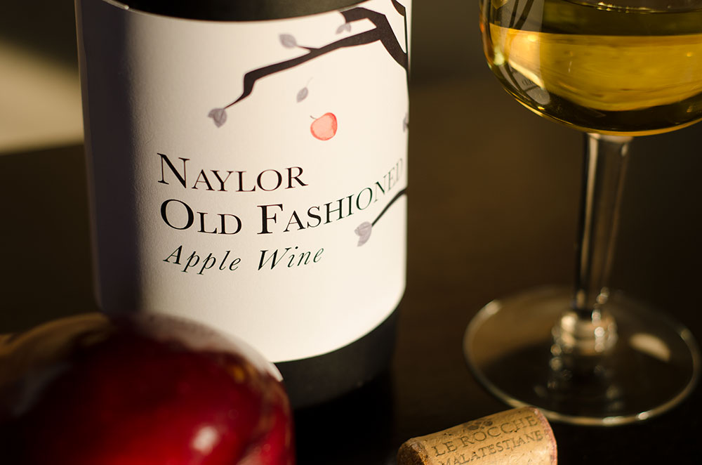 New Design for Naylor Old Fashioned Apple Wine