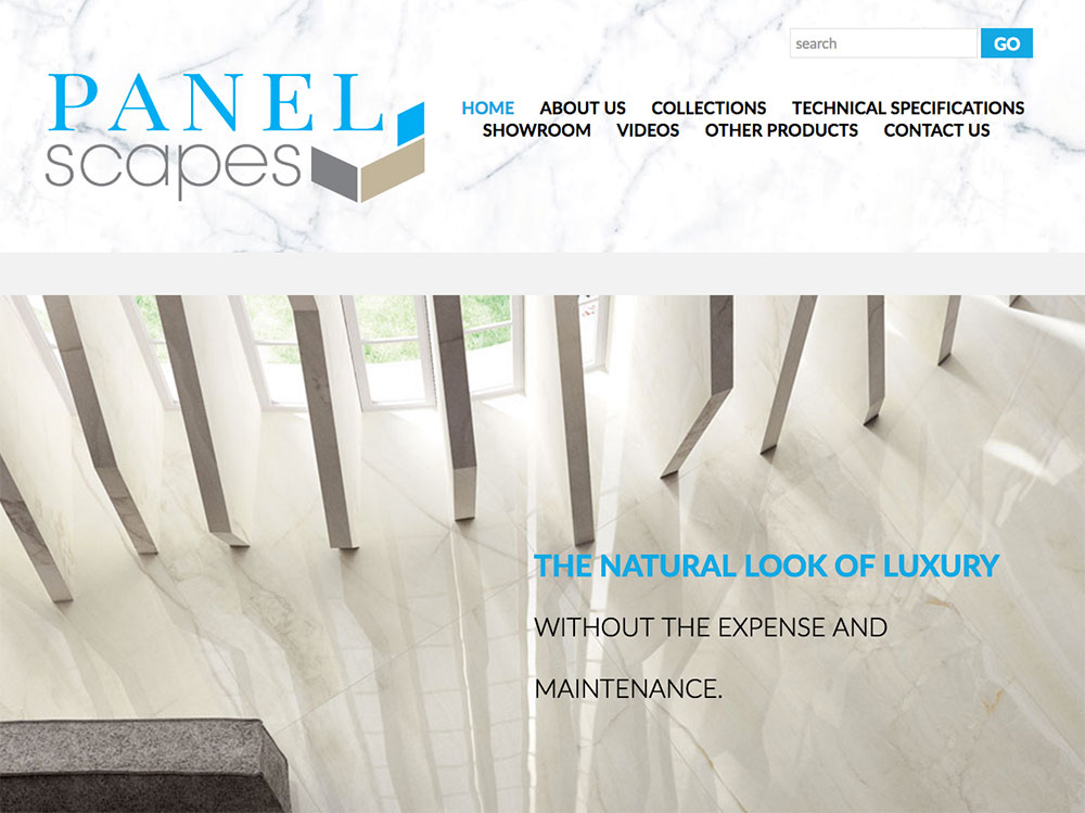 Completely Bold and Awesome Website for PanelScapes