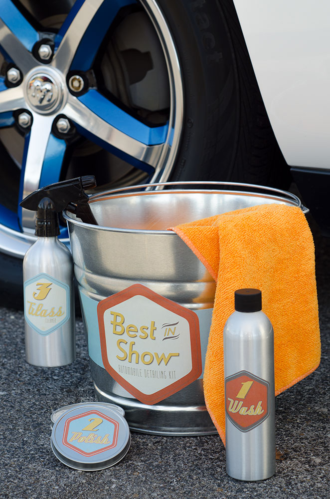 Retro Packaging for Best in Show Detailing Kit