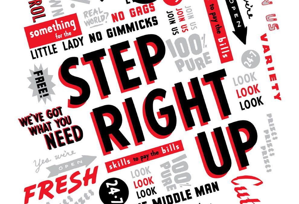 AWARD WINNING Website for Step Right Up