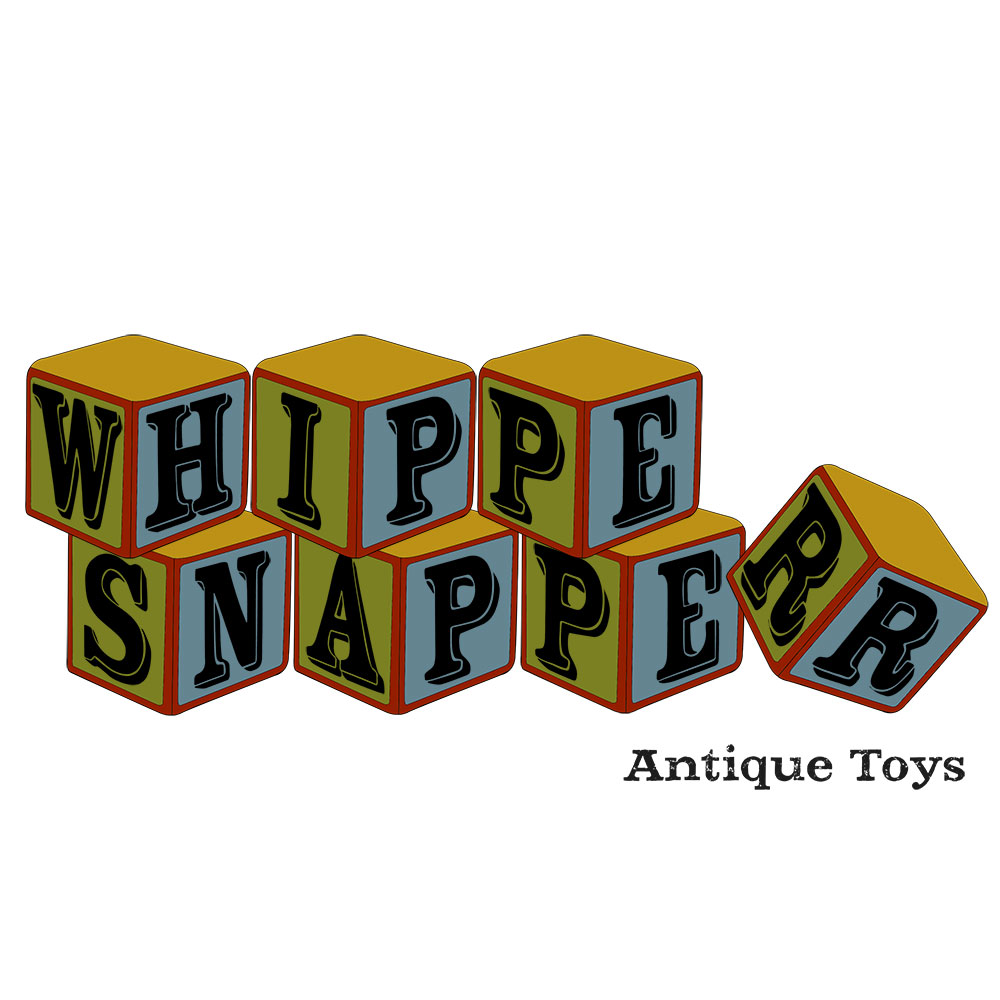Super and Whimsical Official Branding for Whipper Snapper Antiques