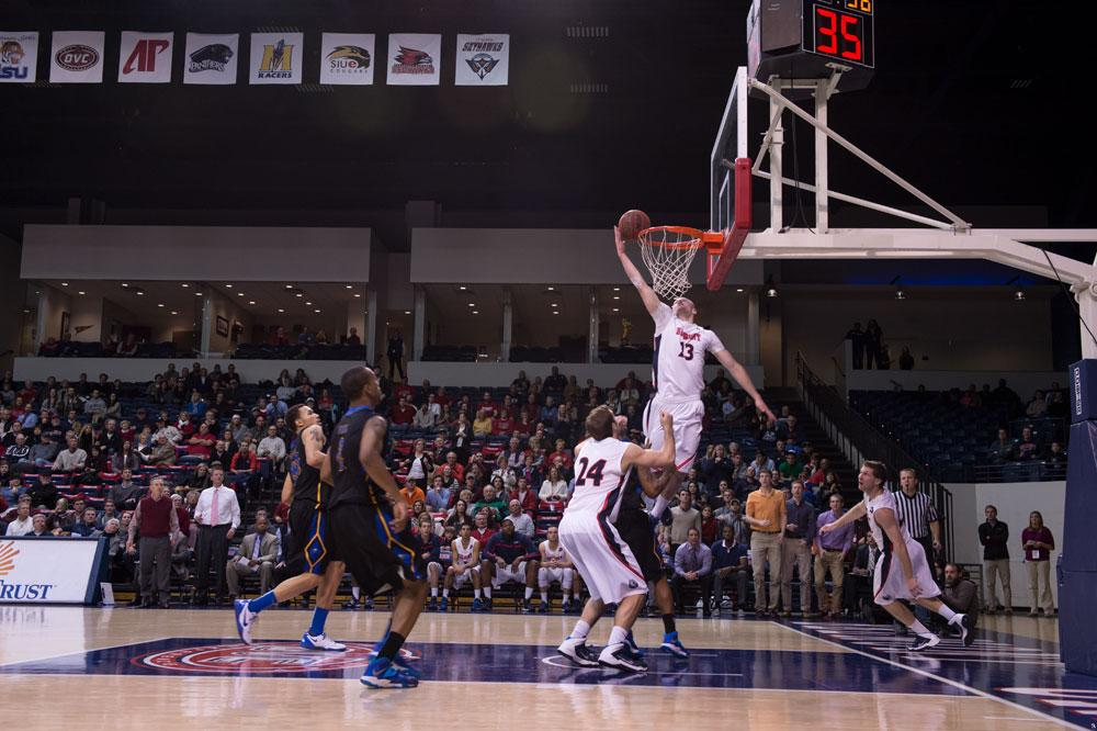 Thrilling Amped Basketball Game at Belmont Crushing Morehead State