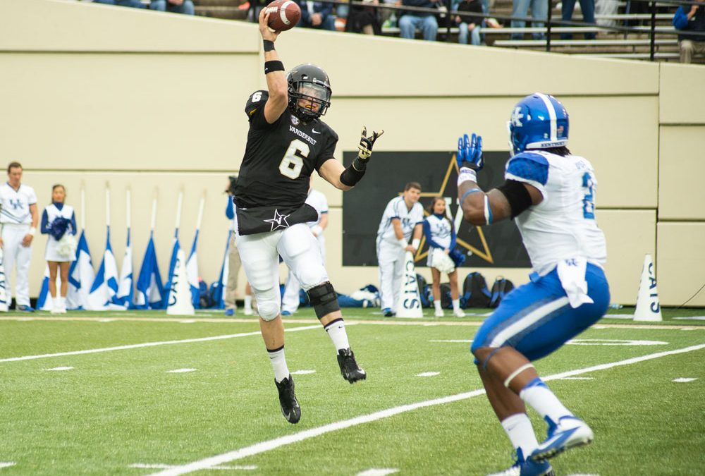 Ultimate Attack on the Field Against Kentucky at Vanderbilt