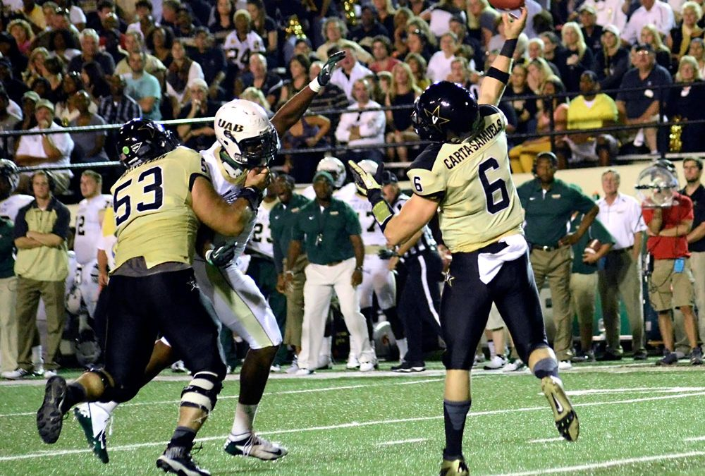 Remarkable Crushing Football Game Against UAB at Vanderbilt
